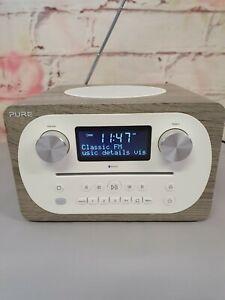 """Pure Evoke C-D4 DAB DAB+ FM Radio CD  Bluetooth """"All in One"""" Digital Radio Y362"""