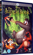 The Jungle Book Diamond Edition Walt Disney Film Kids Childrens DVD New Sealed