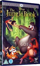 The Jungle Book Diamond Edition Walt Disney Film Kids Childrens DVD New Sealed