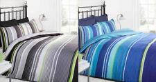 Striped Modern Coverlet Sets