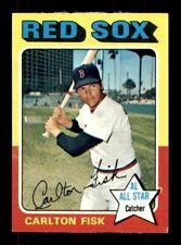 1975 Topps #80 CARLTON FISK VG+ *8g