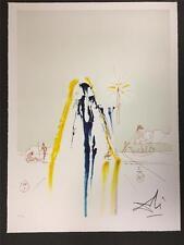 Surrealist Matador Fine Art Lithograph Salvador Dali S2