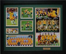Socceroos 2014 Limited Edition Framed Memorabilia (g)