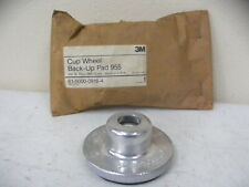 3M Cup Wheel Back Up Pad  - NOS FREE SHIPPING
