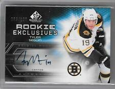 TYLER SEGUIN 2010/11 UPPER DECK SP GAME USED ROOKIE EXCLUSIVES AUTOGRAPH #35/100