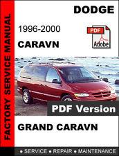 automotive pdf manual ebay stores rh ebay com 2000 dodge grand caravan repair manual free Dodge Caravan Parts Diagram