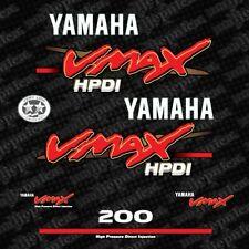 Yamaha 200 VMAX outboard decal aufkleber addesivo sticker set