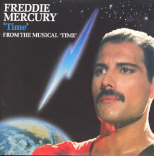 "Freddie Mercury-Time-Queen Larry Lurex light blue vinyle 7"" NEW"