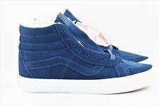 2097586e31 New ListingVans SK8 Hi Suede Fleece Mens Size 12 Skate Shoes DrsBls Blue  White