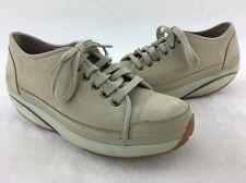 MBT Women's Nafasi Tan LTHR Walking Shoe Size US 6-6.5 #65