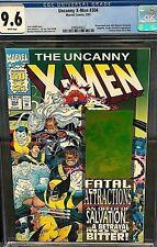 The Uncanny X-Men #304 CGC 9.6 White Pages