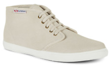SUPERGA Suede Leather Mid-Top Sneakers / Casual Boots - UK 9 - Excellent - BNIB