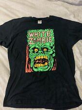 White Zombie Monster Yell Shirt XL