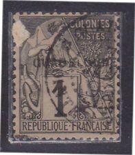 (K130-76) 1876 France 1c black (space filler) (AEX)