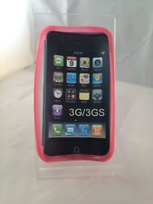 Apple iPhone 3G/3GS -  Pink Pattern - Soft Back Gel Case cover