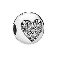 Pandora Charm 796388CZ Neu OVP Winter-Herz 925 Silber T 035