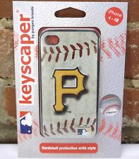 NEW Pittsburgh Pirates MLB iPhone 4/4S Keyscaper by Pangea Brands Hardshell Case