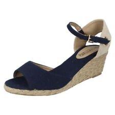 38 Scarpe da donna aperte in punta blu