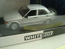 MERCEDES 190 E 2.3 16 V LIGHT GRAY 1988 1/43° WHITEBOX NEW IN BOX PLEXI