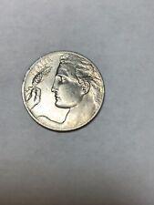 1911 Italia 20 c Flying Liberty Coin