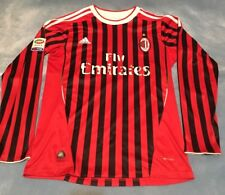 ADIDAS AC MILAN CLIMACOOL FLY EMIRATES OFFICIAL MENS SOCCER FUTBOL JERSEY