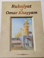 Rubaiyat of Omar Khayyam Poetry Illustrated Paperback Englarged Edition 2001
