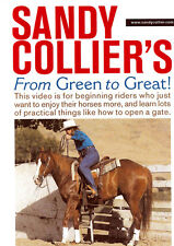 DVD Green To Great - Sandy Collier Horse Riding Training Reining Cutting Cow