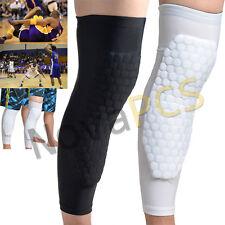 Upgrated Honeycomb Knee Pad Crashproof Basketball Leg Long Sleeve Protector Gear