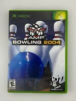 AMF Bowling 2004 - Original Xbox Game - Complete & Tested