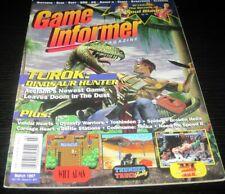 Vintage Game Informer Magazine Nintendo PS Playstation video games 1997 issue 47