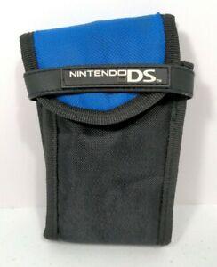 Official Nintendo DS lite Soft Carry Case Travel Bag Blue/Black
