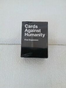 Cards Against Humanity First Expansion Pack New Sealed
