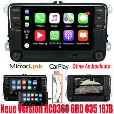 "6.5"" VW Autoradio RCD360 330 187B CarPlay BT GPS Für Golf 5 6 Passat Tiguan Polo"
