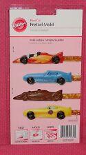 Race Car Chocolate Pretzel Candy Mold,Wilton,2115-1034,Clear Plastic,Racing
