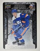 2019-20 Credentials Steel Wheels #SW-7 Noah Dobson RC - New York Islanders