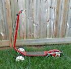Vintage Red 1970s Senior 3 Wheel Honda Kick N Go, Patent Pending