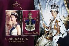 Australia 2003 50th Anniv Of Coronation Ms Mnh