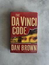Dan Brown The Da Vinci Code Original True First Edition 1st Printing Hardcover