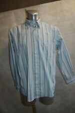 CHEMISE SERGE BLANCO QUINZE TAILLE L  DRESS SHIRT/CAMISA/CAMICIA TBE