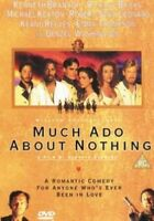 Much Ado About Nothing DVD (1999) Kenneth Branagh cert PG ***NEW*** Great Value