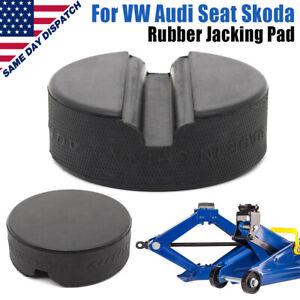 Rubber Jack Pad Block Hydraulic Ramp Jacking Adapter Tool For VW Audi Skoda Seat