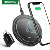 Ugreen 10W / 7.5W / 5W Qi Wireless Charger For Samsung S10 S9 iPhone 11 Max Pro