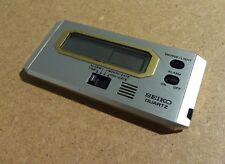 Orologio viaggio Travel Alarm Clock SEIKO QUARTZ BASE METAL 7431-001s Vintage