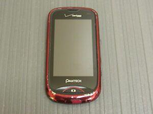 Pantech Hotshot CDM8992VW Red/Black Verizon Wireless Smartphone/Cell Phone