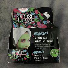 So Fresh So Clean Groovy Green Tea Wash-Off Mask, Face Mask 5oz (150mL) New