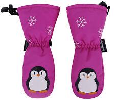 Cute Toddler Kids Boys Girls Printed Winter Sport Outdoor Ski Snow Gloves Mitten