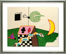 Alan Davie (Zorn 1920), original mostrarían, sign. Snake Box, 1972