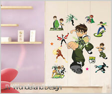 Large BEN 10 Removable Wall Stickers Nursery Baby Decor Decal Kids Boys DIY Art