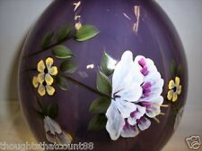 FENTON VASE Violet Opaline '06 Mom EX 3206QP #281/1500 * FREE USA SHIPPING
