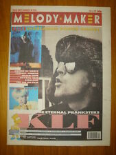 MELODY MAKER 1991 FEB 16 KLF SIMPSONS JULEE CRUISE SOHO